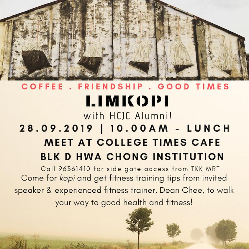 LimKopi with HCJC Alumni 28 Sept 2019