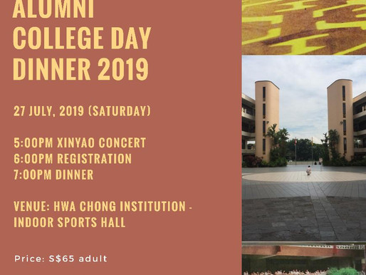 Alumni College Day Dinner 2019
