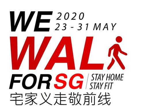 we walk for sg