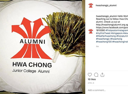 HCJC Alumni on social media – watch this space!