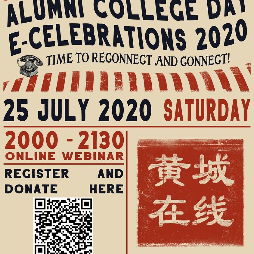黄城在线 Alumni College Day Celebrations 2020
