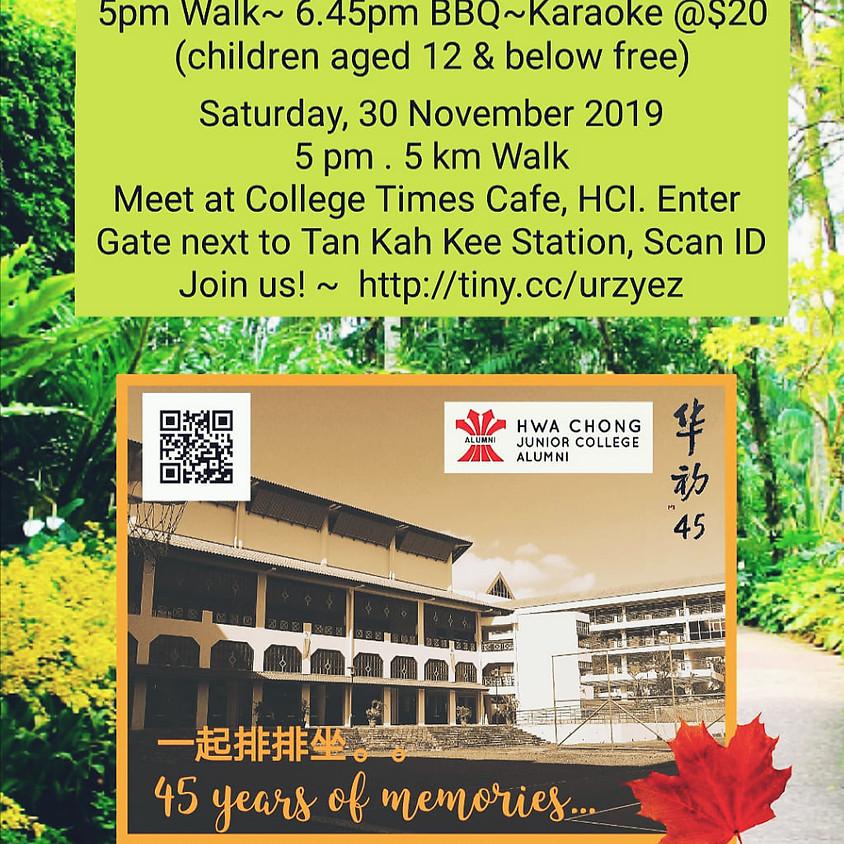 Hwa Chong 45th Anniversary Walk