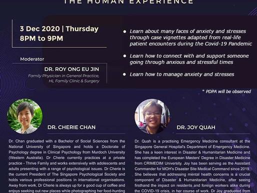 Hwa Chong Conversations: Sharing Life Through anxiety & stresses - the human experience