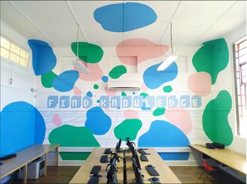 Computer Room Mural