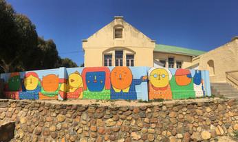 Grade 1-3 Playspace Mural