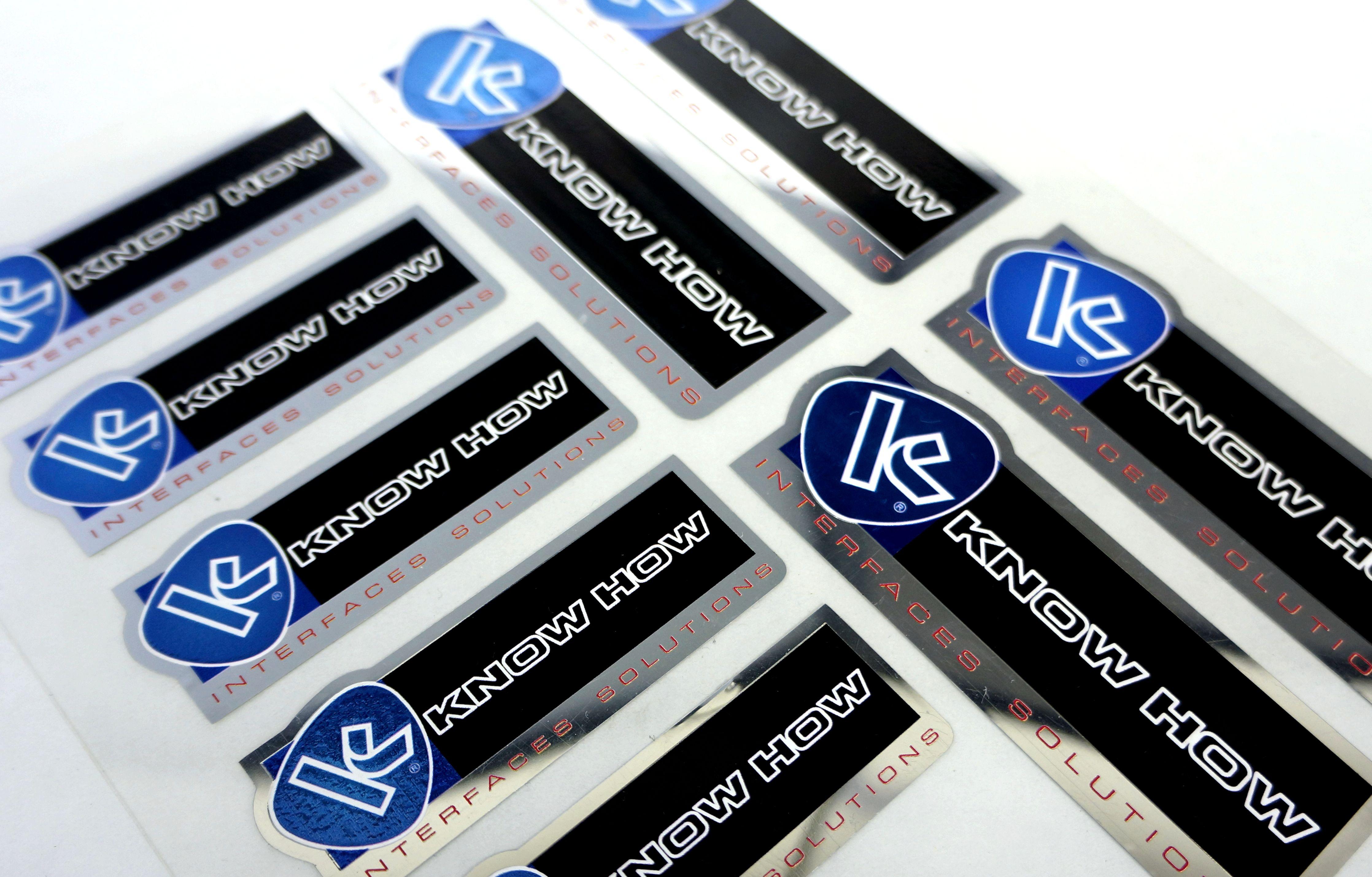 Impressão digital: Etiquetas