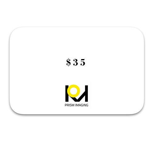 $35 Gift Card