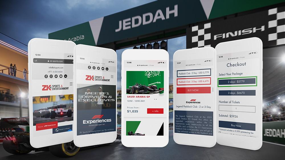 Saudi Arabia F1 Paddock Club Tickets Live on ZK Sports & Entertainment. Buy Saudi Arabia F1 VIP Tickets direct with ZK Sports & Entertainment. Buy Saudi Arabia F1 Tickets with ZK Sports & Entertainment