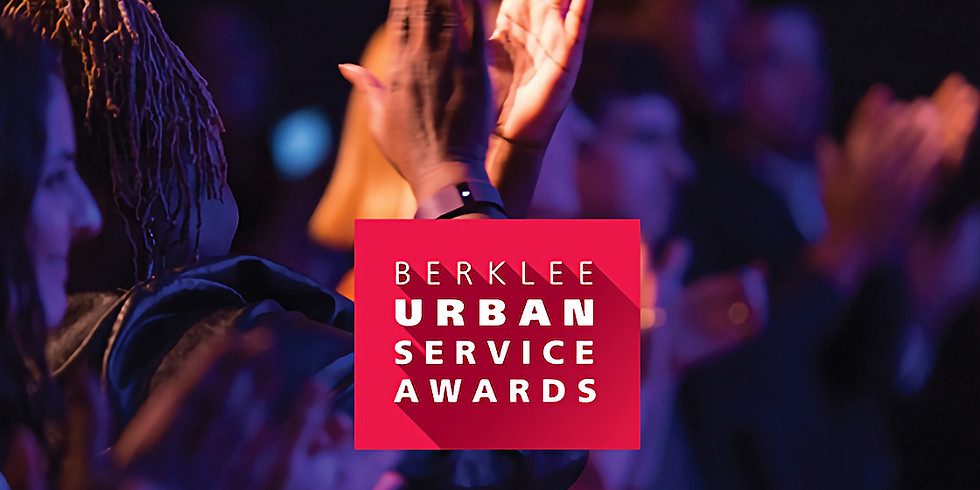 Berklee Urban Service Awards