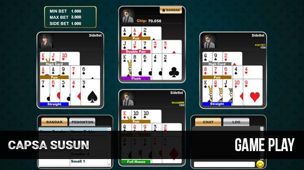 Cara Ikuti Permainan Capsa Online dalam Versi Turnamen