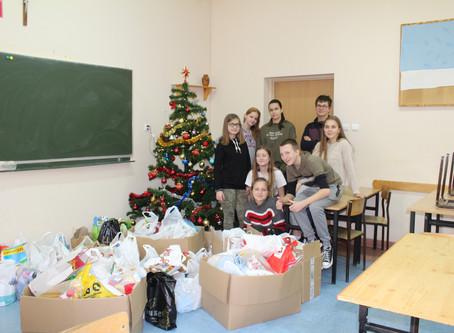 Świąteczna zbiórka darów dla Domu Dziecka w Otorowie