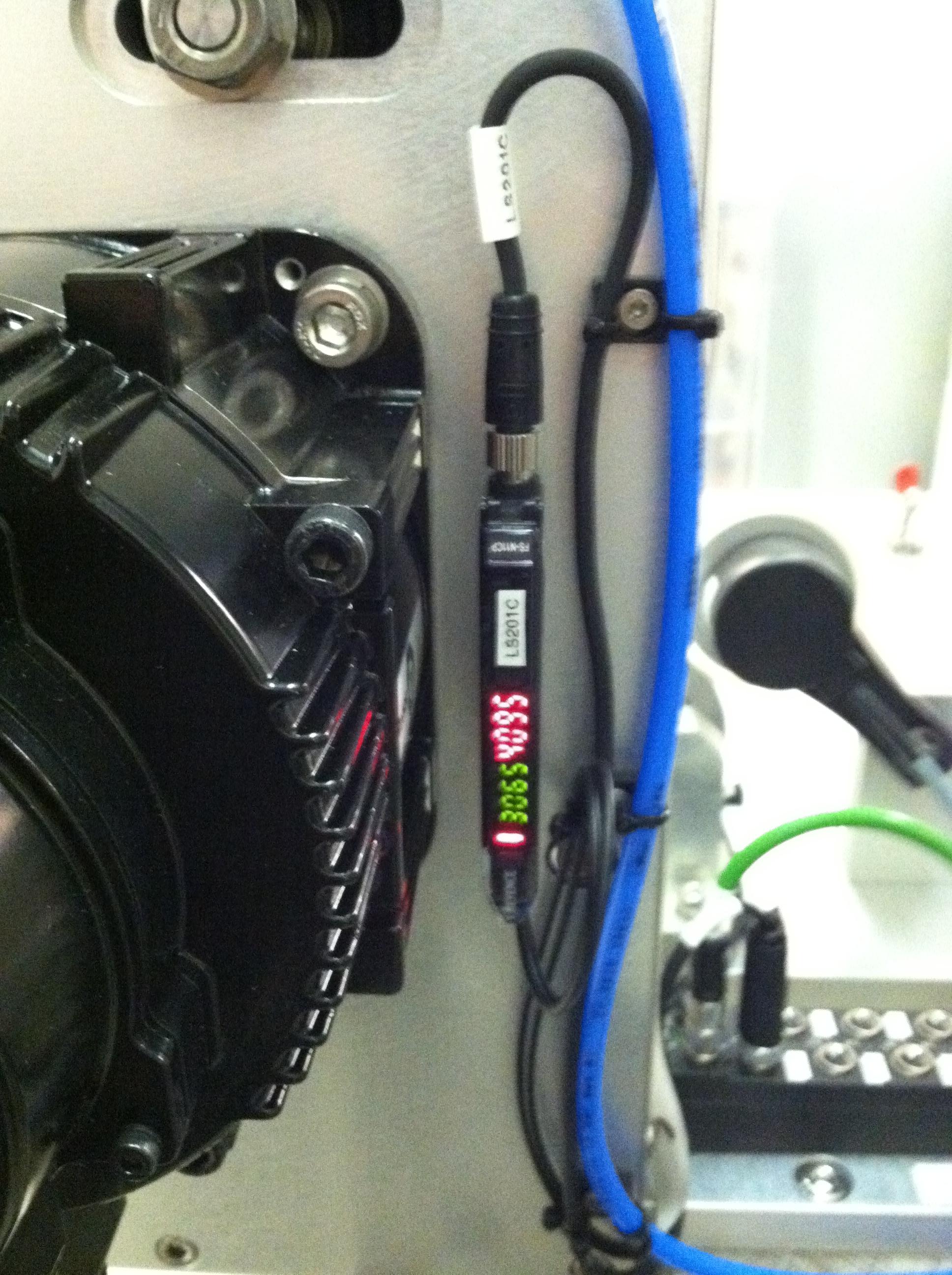Servo Motor and Sensor