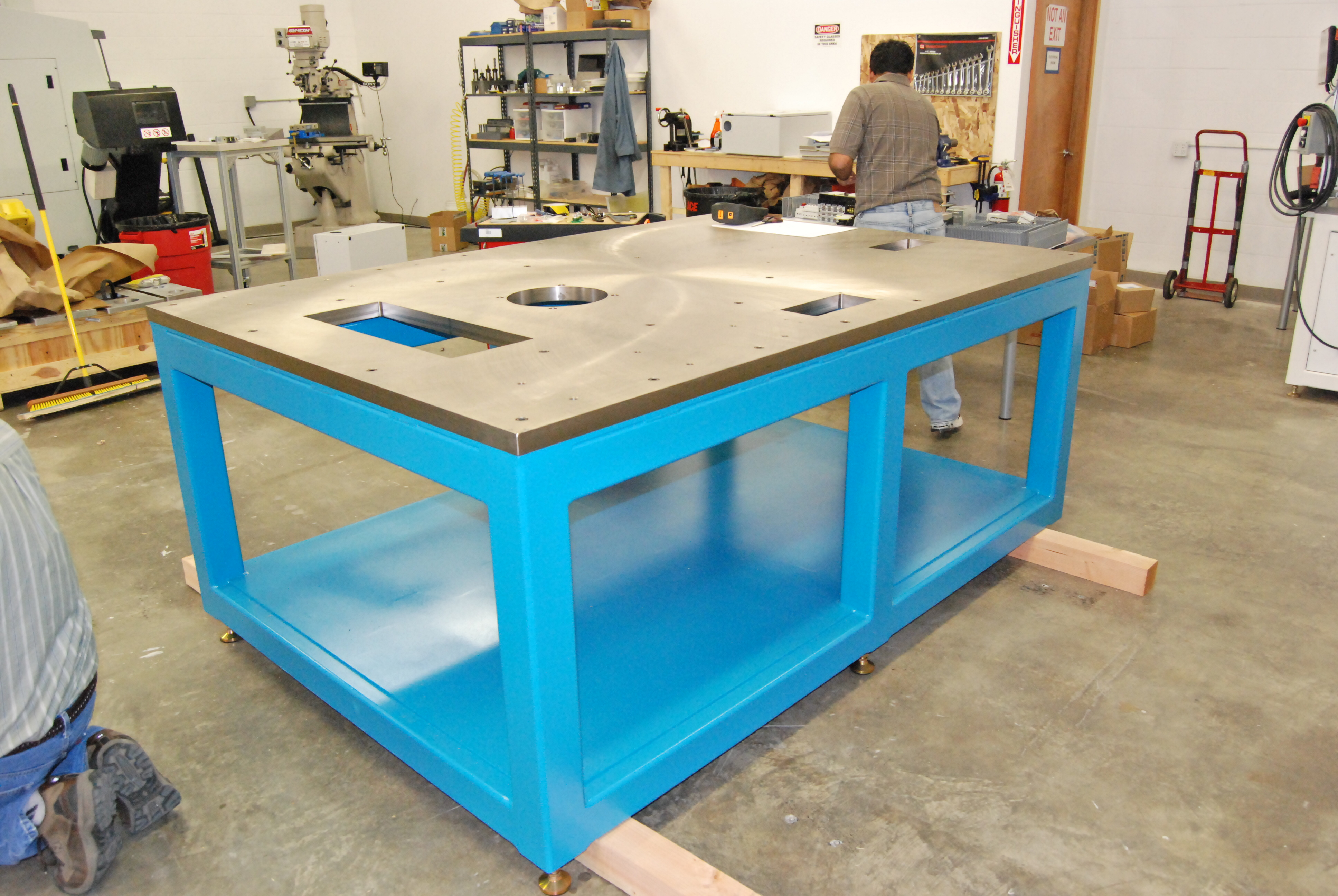 Table Under Construction