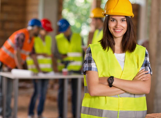 Women of Steel- celebrating the women in construction.