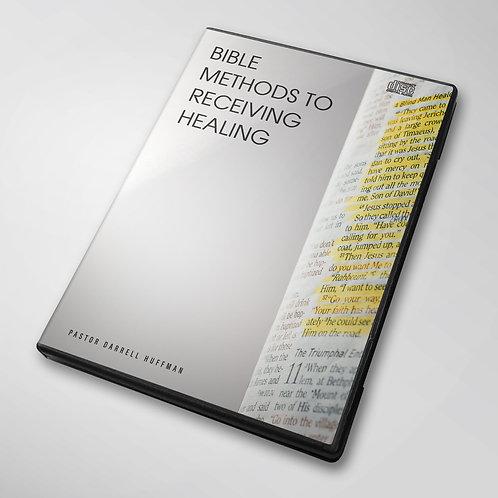 Bible Methods To Receiving Healing