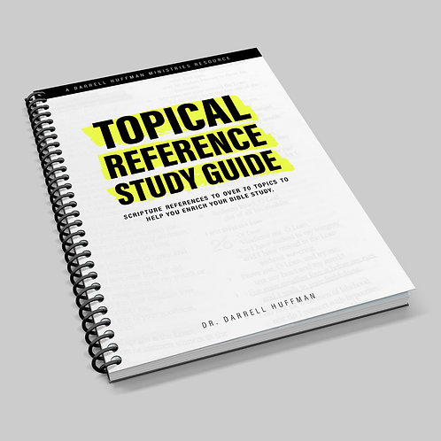 Topical Reference Study Guide