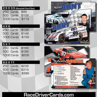 Driver Cards!