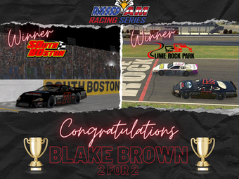 Blake Brown goes 2 for 2