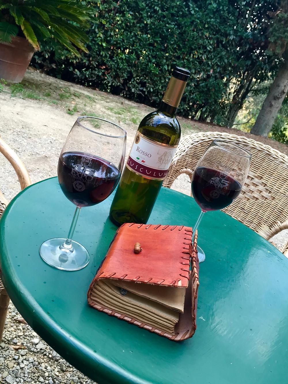 wine tuscany italy