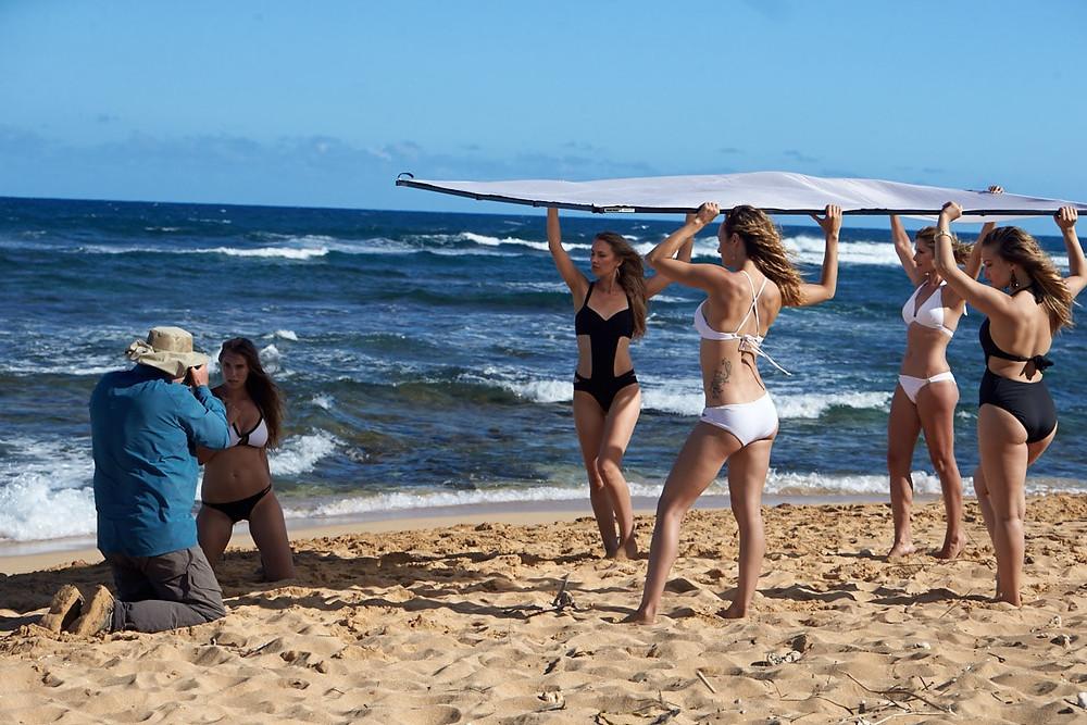 kauai beach photo shoot