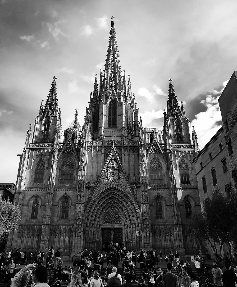 barcelona cathedral gothic