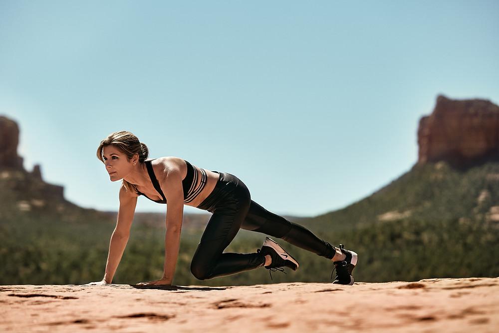 Julie Stevens Model Fitness Lifestyle Sedona