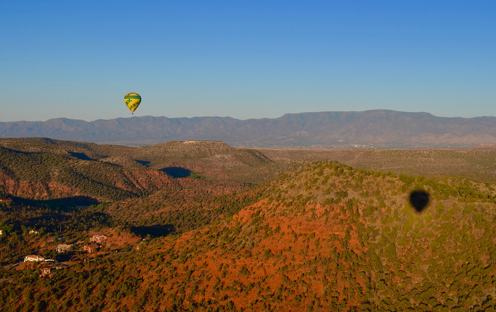 hot air balloon sedona arizona