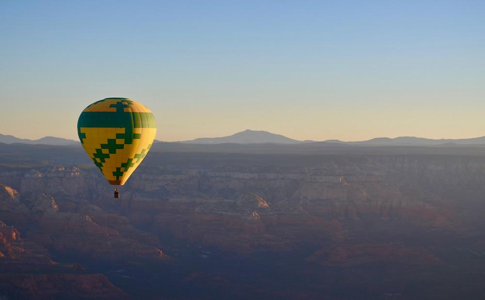 sedona arizona hot air balloon