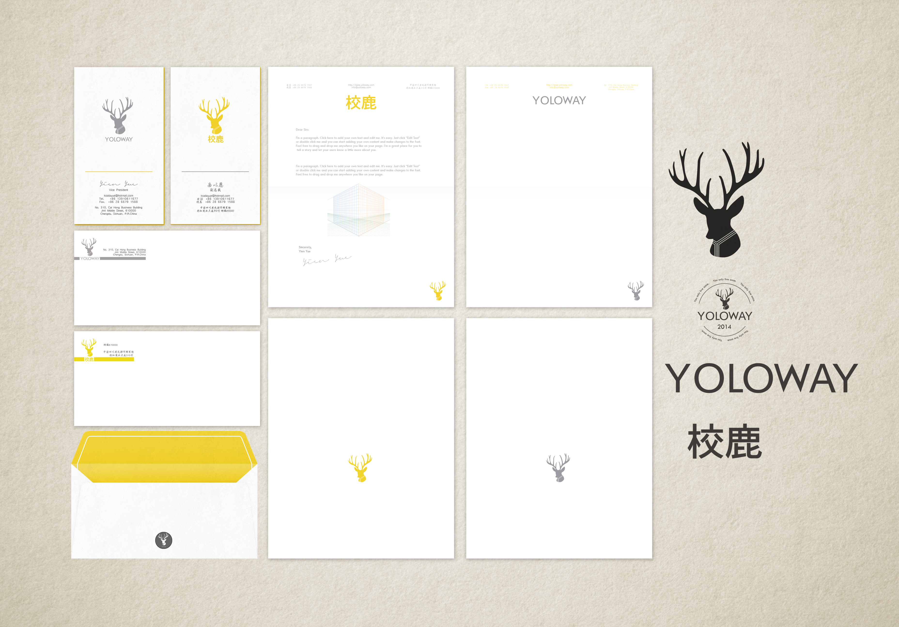 UI Design for Yoloway Corporation