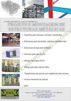 PROJETOS DE ESTRUTURAS METALICAS