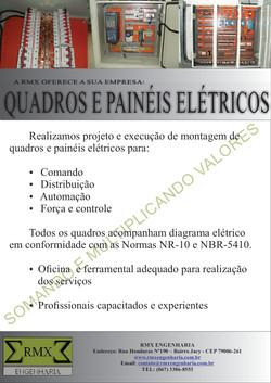 QUADROS E PAINEIS ELETRICOS