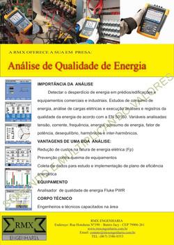 ANALISE DE QUALIDADE DE ENERGIA