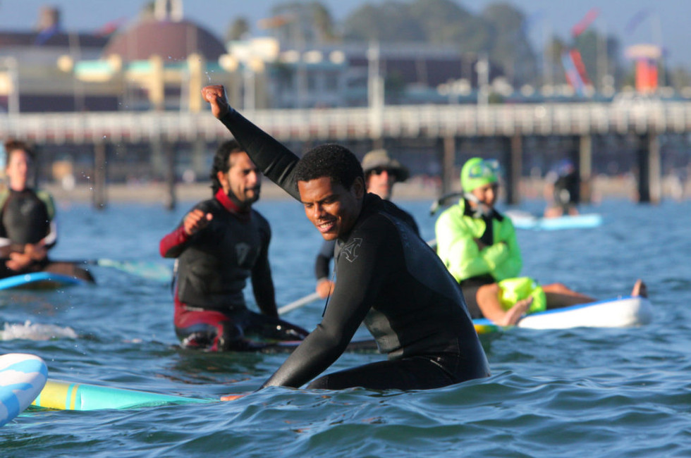 Tamario Smith Paddle Out - 7/11