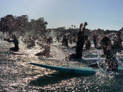 George Floyd Paddle Out- 6/6/2020