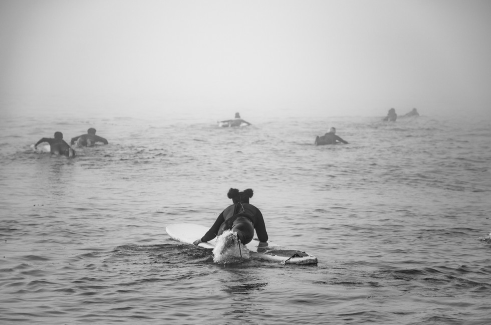 First Time Surfing - September 19, 2020