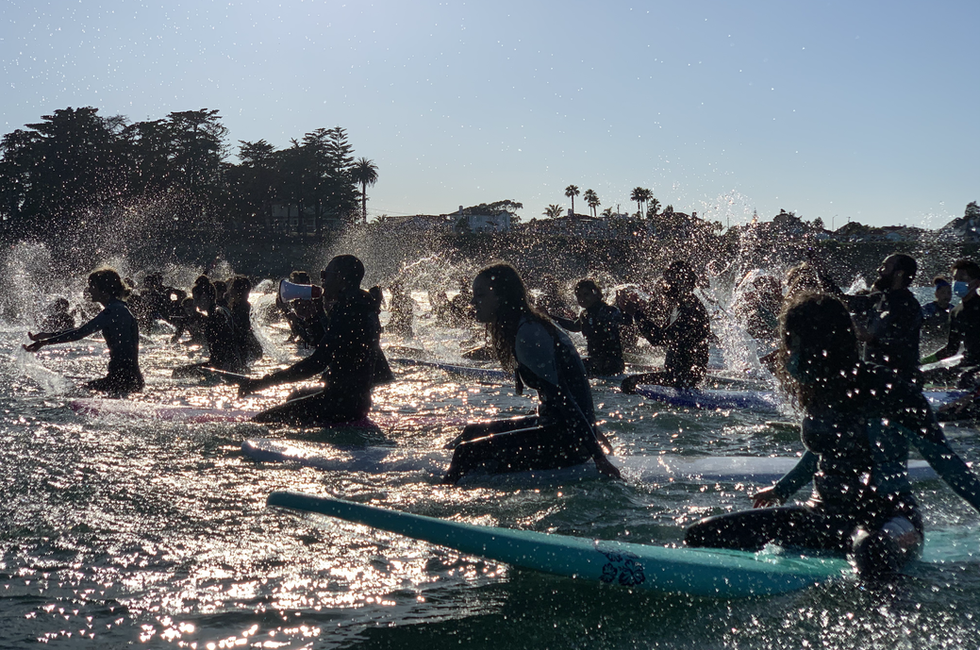 George Floyd Paddle Out - 6/7