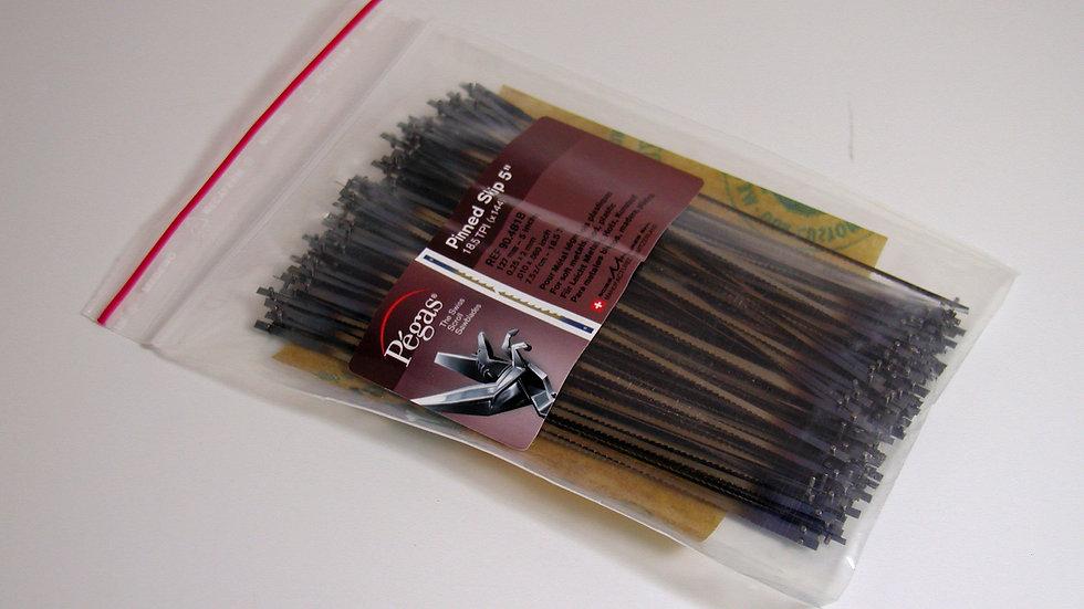 Pegas Pinned Skip Blades 18.5 tpi 144 / pack
