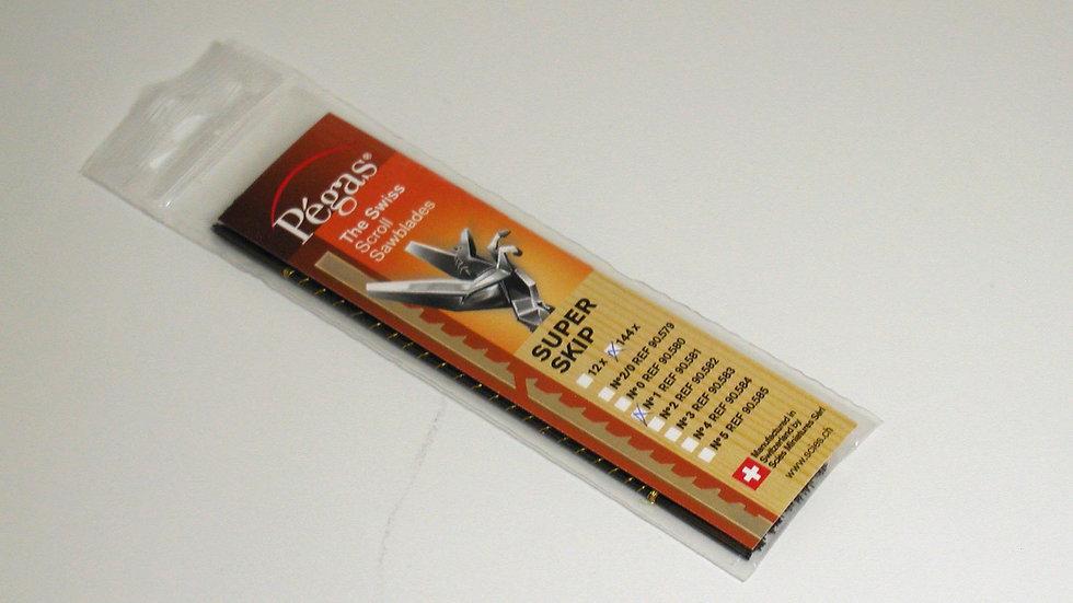 Pegas #1 Super Skip Blades 17.2 tpi 144/pack