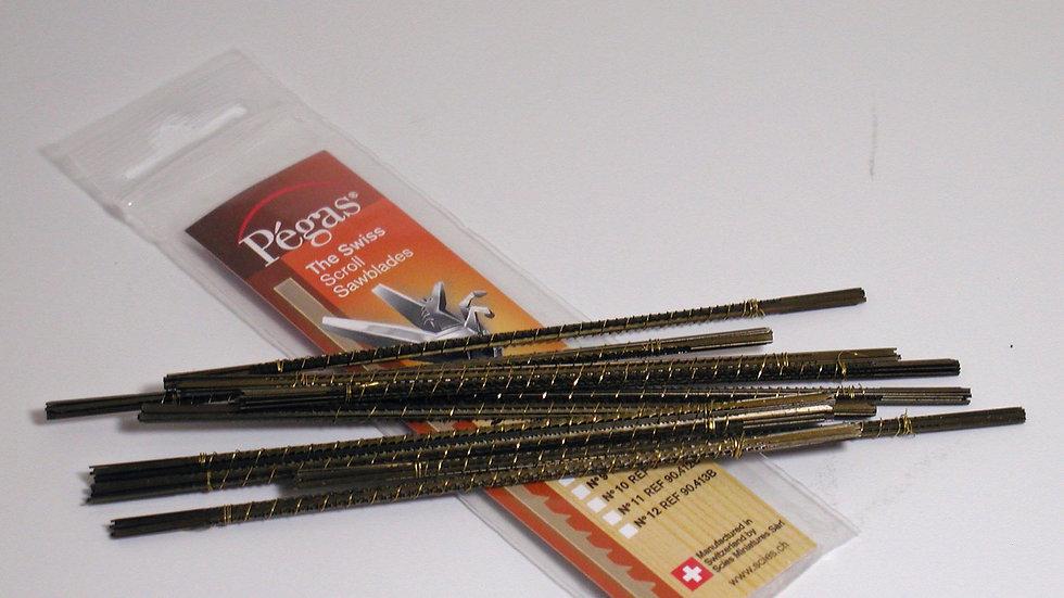 Pegas #2 Double Skip Blades 19.2 tpi 144/pack