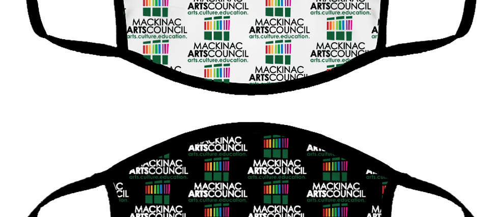 Mackinac Arts Council face mask