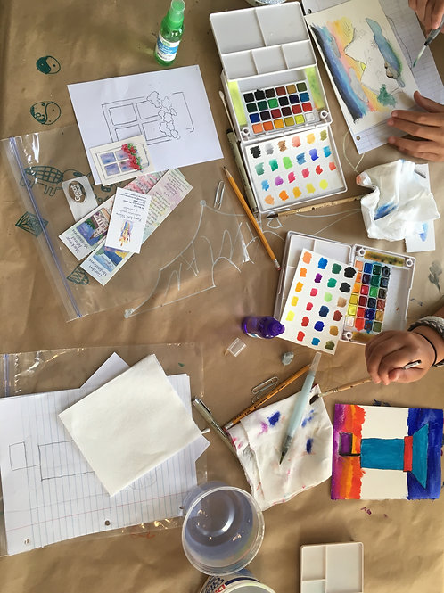 Watercolor with Mary Lou Peters