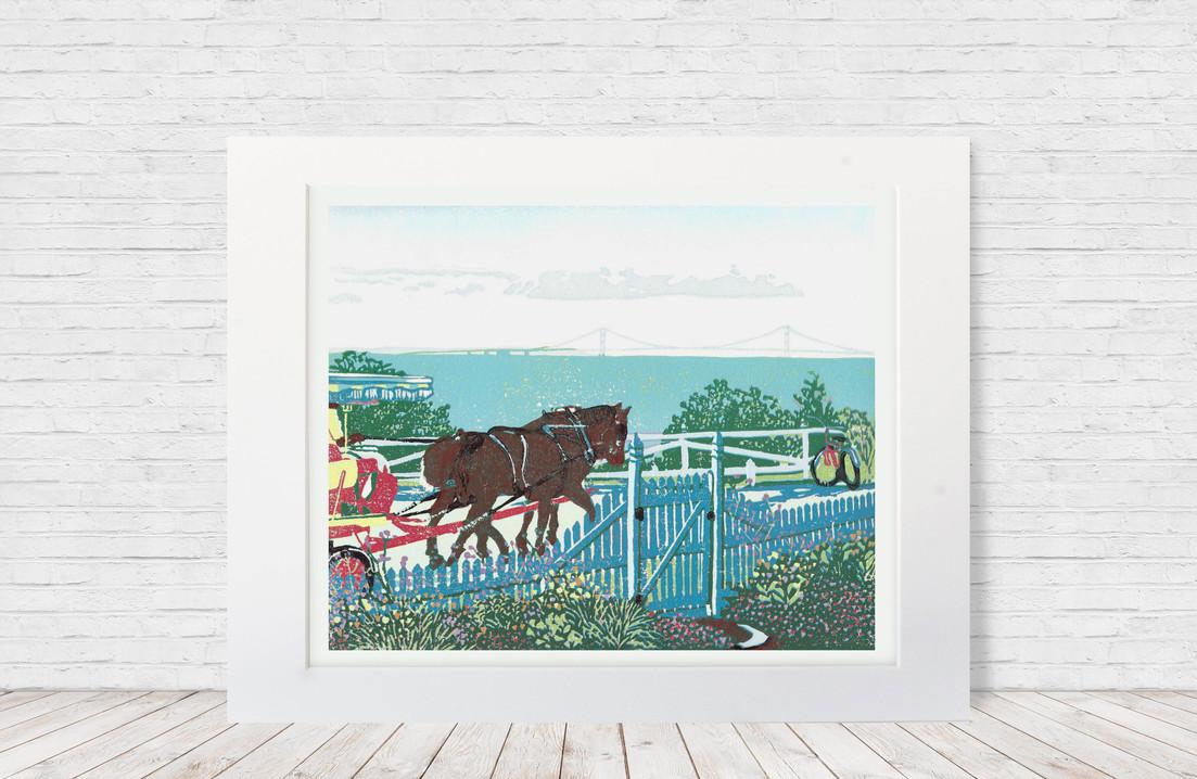 Mackinac Garden Gate (Natalia Wohletz)