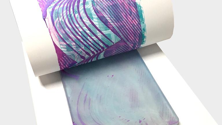 Printmaking with Cindy Hunter Morgan