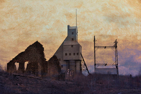 Quincy Mine (Kathryn Lund Johnson)