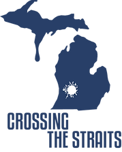 Crossing the Straits logo blue.png