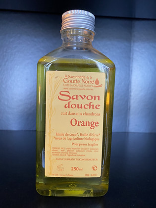 SAVON DOUCHE Orange au Miel BIO