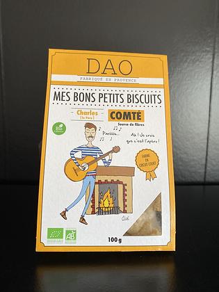 DAO BISCUITS BIO COMTÉ 100G