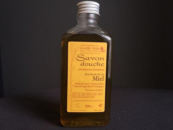 SAVON DOUCHE Enrichi au miel BIO (5%)
