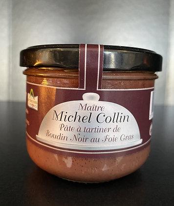 PÂTE À TARTINER DE BOUDIN NOIR au foie gras