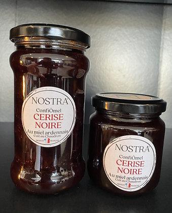 CERISE NOIRE au miel 240g ou 350g